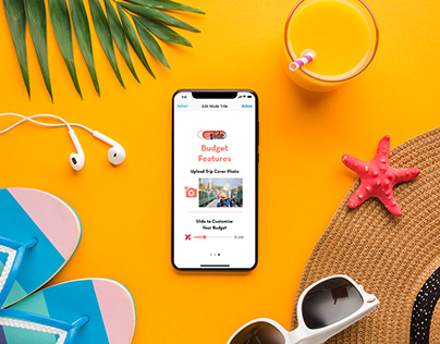 UXUI Case Study: Travel Budget Mobile App