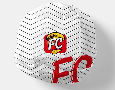 Arden FC Kurumsal Kimlik ve Ambalaj Tasarımı