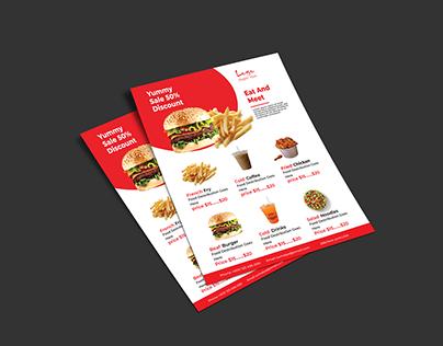 Restaurant Food Flyer Promotion