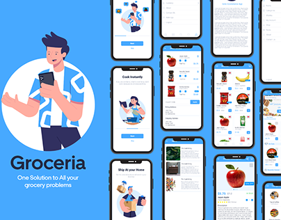 Groceria - one solution to all your Grocery Problems