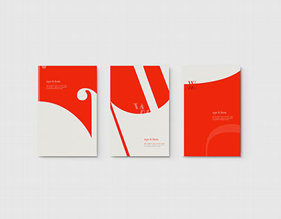 Type & Form Posters
