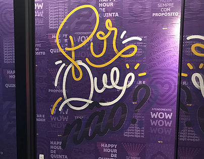 Youse | Wall Lettering