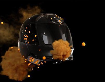 TYFlow Honda Helmet Smoke