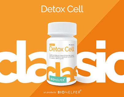 Branding & Packaging - Detox Cell