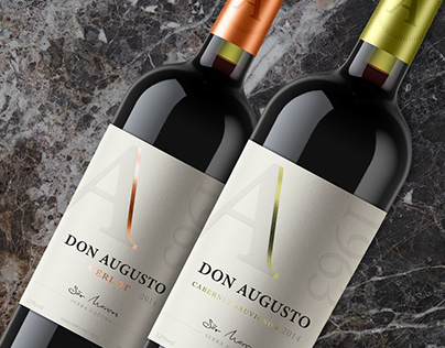 Vinho Don Augusto/ Wine Packaging Design