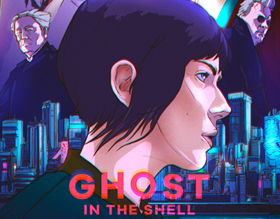 Ghost In The Shell / Movie Poster