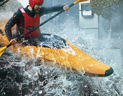 Kayaker / Saatchi & Saatchi Los Angeles / USA
