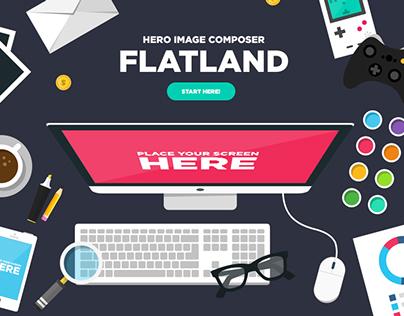 Flatland - Hero Image Composer