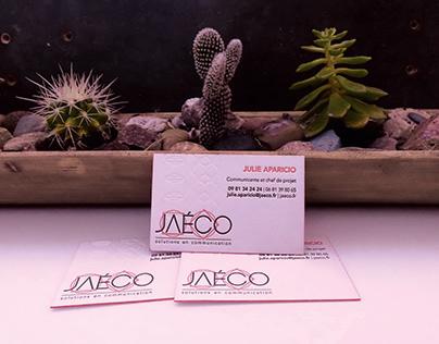 Jaéco   Logotype et carte de visite