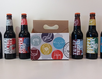 Knoll+Flying Fish Beer Label Competition collection