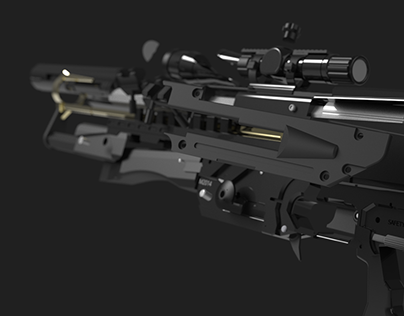 Shattered Rifle