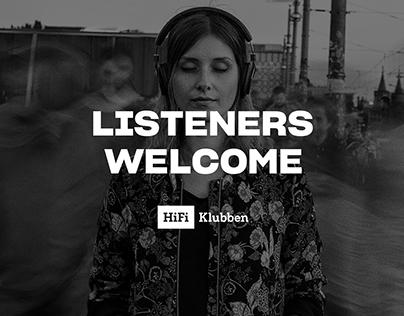 HiFi Klubben // WELCOME LISTENERS