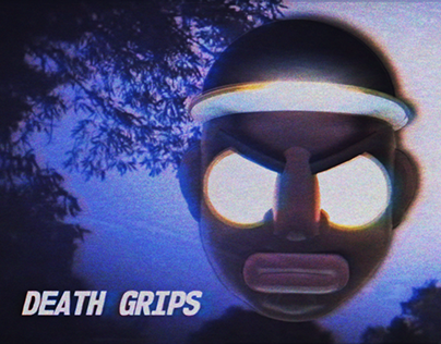 Death Grips - Hustle Bones (music video)