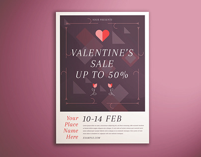 Valentine's Day Sale Flyer Vol. 02