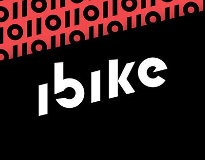 ibike bmx shop branding