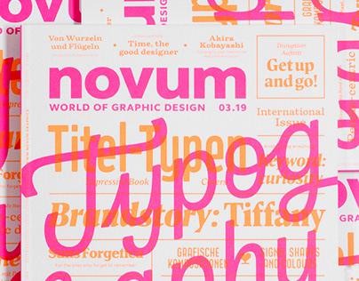 novum 03.19 »typography«