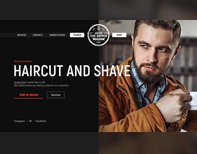 BRANDING - Barbershop Jack The Ripper