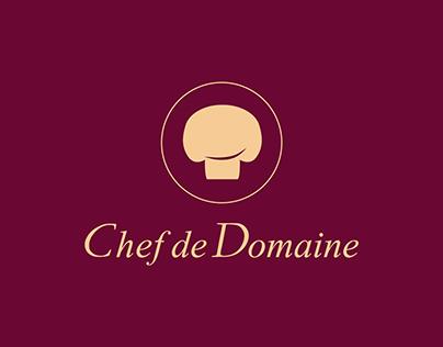 Logo - Chef de Domaine