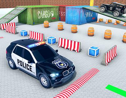 POLICE PRADO PARKING