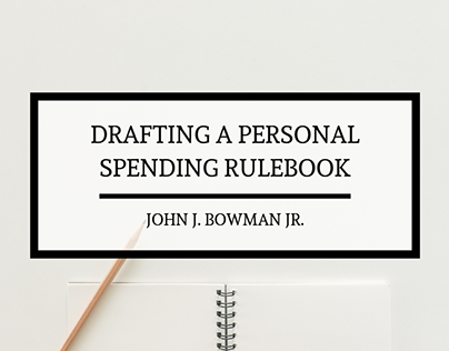 Drafting a Personal Spending Rulebook