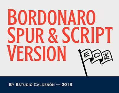 Bordonado Spur & Script (Typefamily)