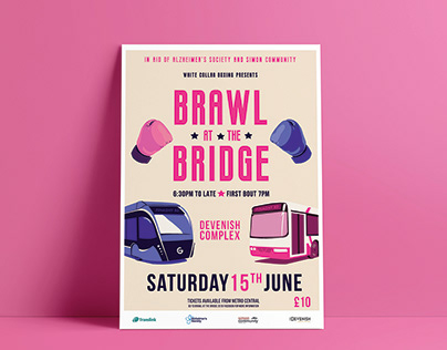 Brawl At The Bridge Event Promotion