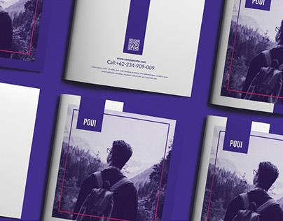 POUI - Creative Square Portfolio