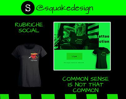 SQUAKE | Brand Identity & Marketing