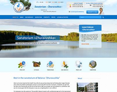 Sanatorium website design