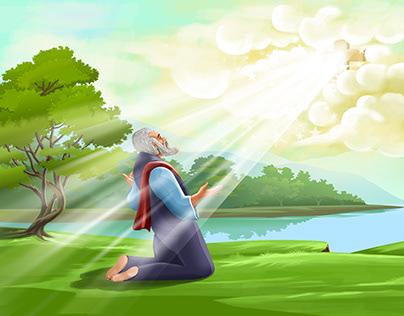 Noah's ark Storyboard ,illustration & Drawing
