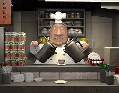 Hong Kong Chef | Animation