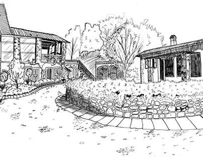 Ideal Garden: sketch