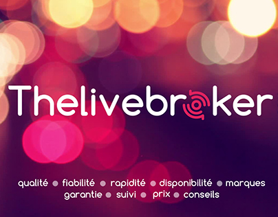 THE LIVE BROKER : Créations visuelles - Photos & vidéo