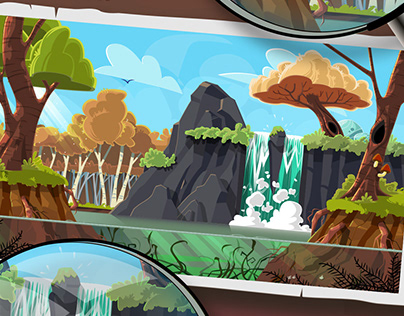 Eco Scout - game art