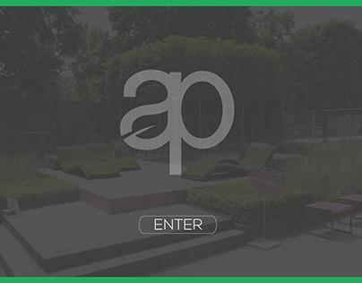 Andrew Pass Garden Landscapes - Website Concept