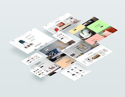 Maynooth web | UI Design