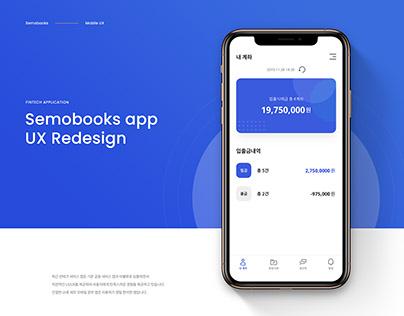 Semobooks app UX Redesign