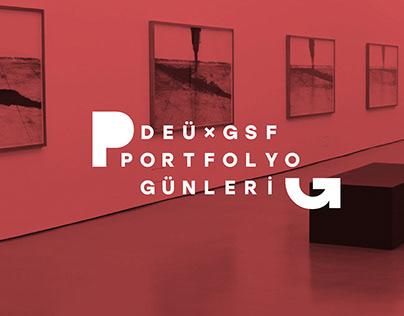 DEÜ - GSF Portfolyo Günleri - Brand Design