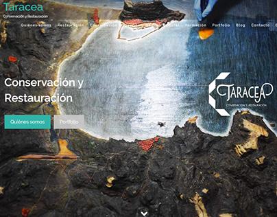 Diseño Web para Taracea Conservación y Restauración
