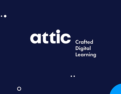 attic - Digital Learning Brand Design / Brand refresh