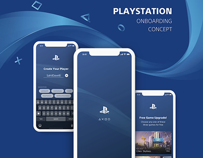 PlayStation Onboarding Concept