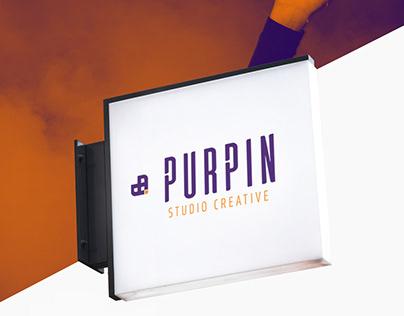 Identidade de Marca Purpin Brand Identity Purpin
