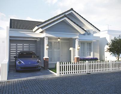 Rumah Tinggal Ibu Muftia Dian
