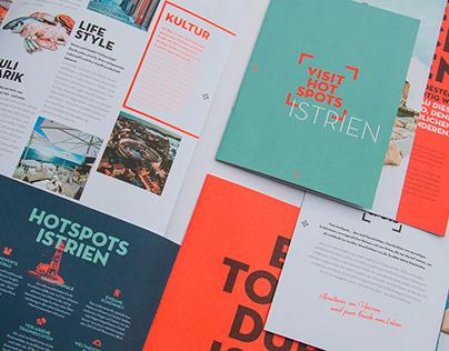 Visit HotSpots | Editorial Design