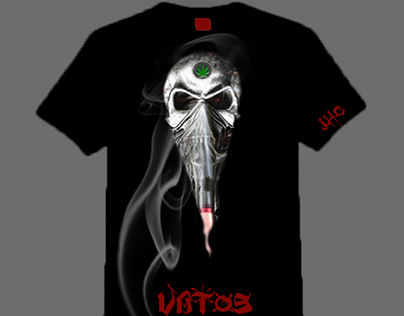 Vatos  |  T-Shirt Design for JailHouse Clothing