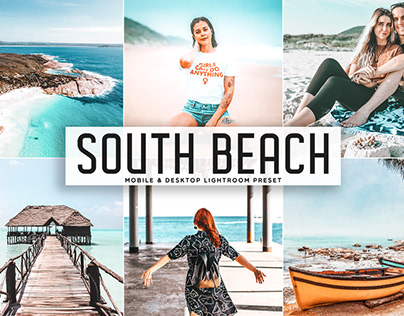 Free South Beach Mobile & Desktop Lightroom Preset