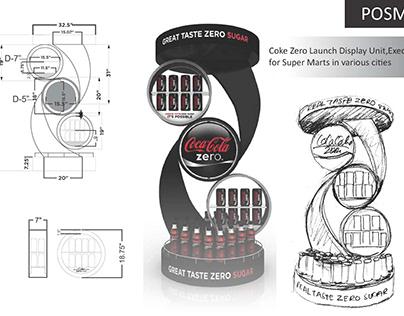 Coke Zero FSU concept Display Design