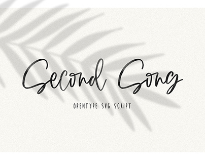 Second Song SVG Script