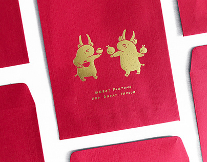 Great Fortune and Great Favour   Red Envelopes