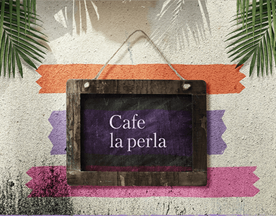 Cafe la Perla Menu
